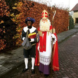 Sint en Piet op pad